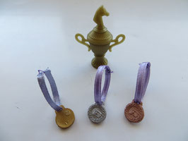 Schleich Pokal,Schleifen,Medaillen