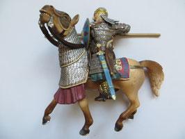 Schleich Reiter mit Spieß auf Pferd, 2004