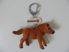Schleich Schlüsselanhänger Shetty Fohlen, Sondermodell Spielwarenmesse 2016