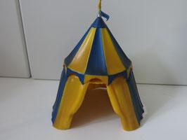 Schleich Belagerungszelt blau/gelb, 2005
