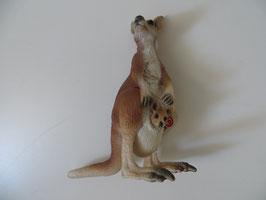 Schleich Känguru mit Jungen, 2008