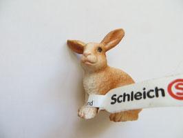 Schleich Kaninchen braun/weiß, 2016