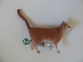 Schleich Katze rot weiß getigert, 2016