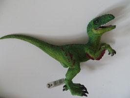 Schleich Velociraptor grün