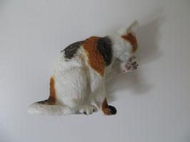 Schleich Katze putzend 2010