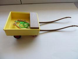 Schleich Wagen für Obststand mit Geschirr