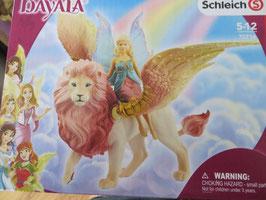 Bayala Elfe auf geflügeltem Löwen, 2020