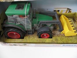 Schleich Traktor mit Fahrer, altes Modell