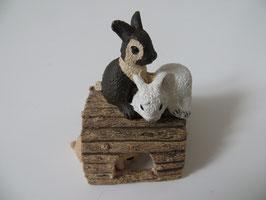 Schleich Kaninchenjungen, spielend 2013