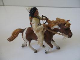 Schleich Sioux Junge auf Pferd 2005