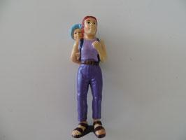 Schleich Mutter mit Kind 2001