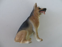 Schleich Schäferhund Rüde sitzend 2008