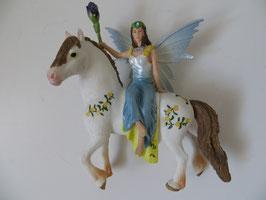 Bayala Eyela auf Pferd, 2014