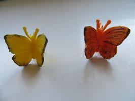 Schleich Schmetterling gelb oder orange