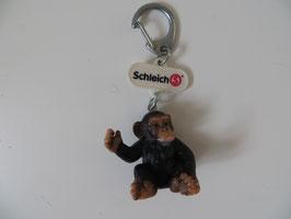 Schleich Schlüsselanhänger Schimpansen Junges, Messegeschenk