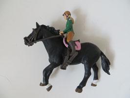 Schleich Reiterin aus Reitschule, Apaloosa in Sonderfarbe, 2012