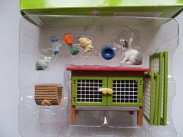 Schleich Kaninchenstall in OVP, 2006