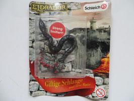 Eldrador Giftige Schlange und fiese Ratte