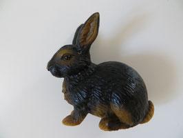 Schleich Kaninchen schwarz-braun