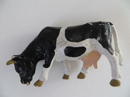 Schleich Kuh schwarzbunt grasend, 1988-2000