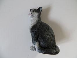 Schleich Katze sitzend schwarz, 1997