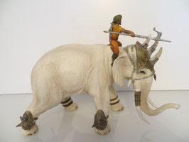 Schleich Kampfelefant mit Reiter
