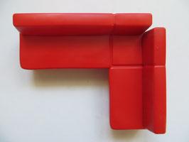 Schleich Sofa rot