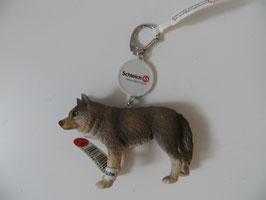 Schleich Schlüsselanhänger Wolf, Rarität