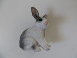Schleich Kaninchen weiß grau, 2010