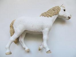 Schleich Dartmoor Pony Stute 2017, Sonderfarbe weiß