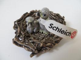 Schleich Adlerjungen im Nest 2011