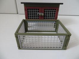 Schleich Kaninchen/ Hasenstall mit Freigehege