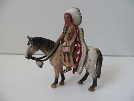 Schleich Sioux Häuptling auf Pferd 2005
