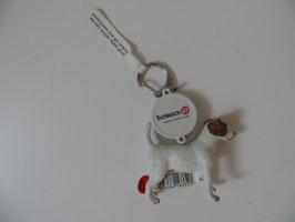 Schleich Schlüsselanhänger Jack Russel Terrier, Rarität