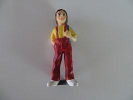 Schleich Mädchen mit Rucksack 2001
