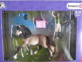Schleich Pferdepflegeset Andalusier, in OVP