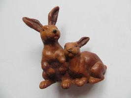 Schleich Hasenpaar braun, 1988-96
