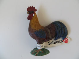 Schleich Hahn bunt, 2008