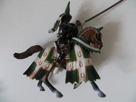 Schleich Turnierritter grün/weiß Taurus, 2005
