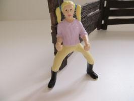 Schleich Reiterin mit blonden Zöpfen