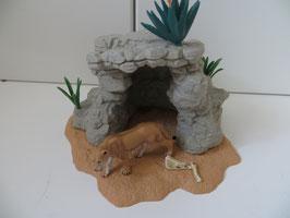 Schleich Playset Höhle mit Löwin