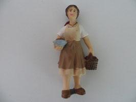 Schleich Bäuerin mit Brot und Korb 2002