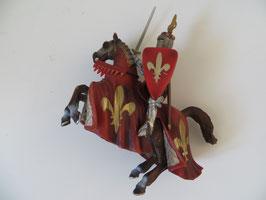 Schleich Fürst auf steigenden Pferd, Liliengruppe, 2003