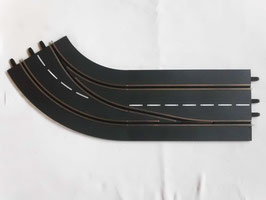 Spurwechselkurve Carrera Digital 132 Rechts, Aussen nach Innen m. ACS
