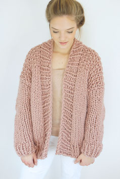 BIG BANG CARDIGAN, STRICKSET