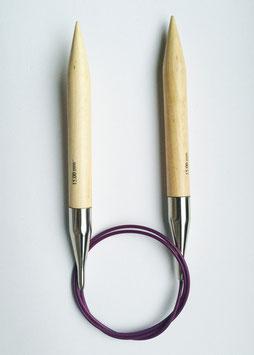 "KNIT PRO XL RUNDSTRICKNADEL ""BASIX"" BIRKENHOLZ, 80cm"