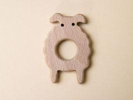 Greifring aus Holz- Schaf