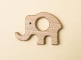 Greifring aus Holz- Elefant