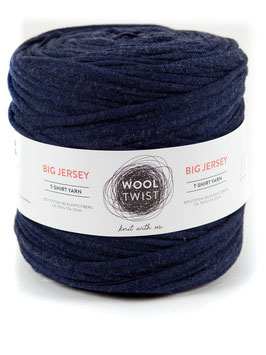 BIG JERSEY TEXTILGARN, NIGHT BLUE MELANGE