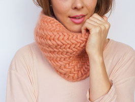 ZIGZAG SNOOD, STRICKSET